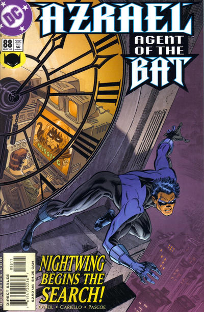 Cover for Azrael: Agent of the Bat (DC, 1998 series) #88