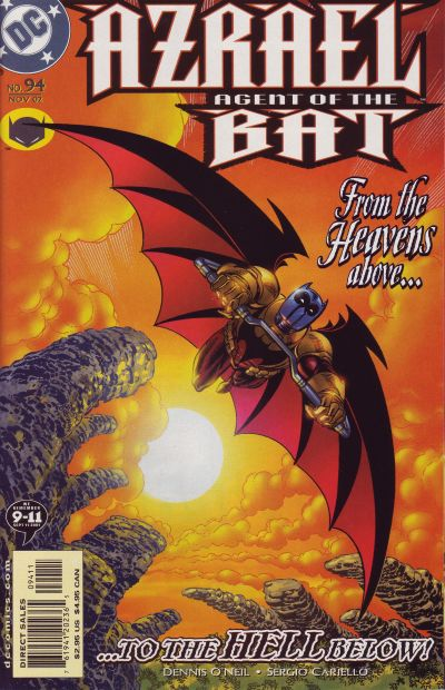 Cover for Azrael: Agent of the Bat (DC, 1998 series) #94