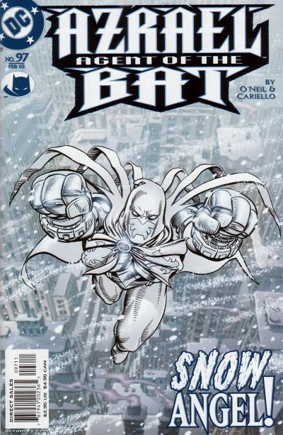 Cover for Azrael: Agent of the Bat (DC, 1998 series) #97