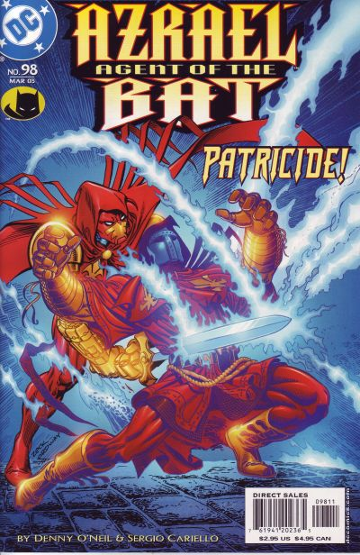 Cover for Azrael: Agent of the Bat (DC, 1998 series) #98