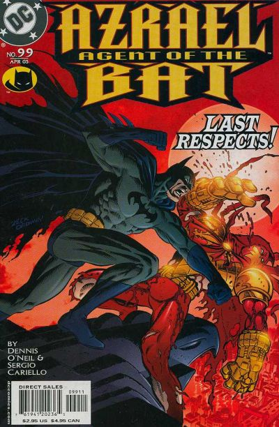 Cover for Azrael: Agent of the Bat (DC, 1998 series) #99