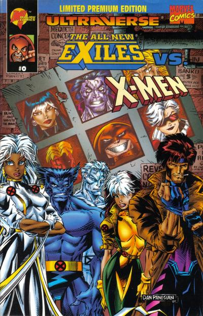 Cover for Exiles vs. X-Men (Marvel, 1995 series) #0 [Limited Super Premium Edition]