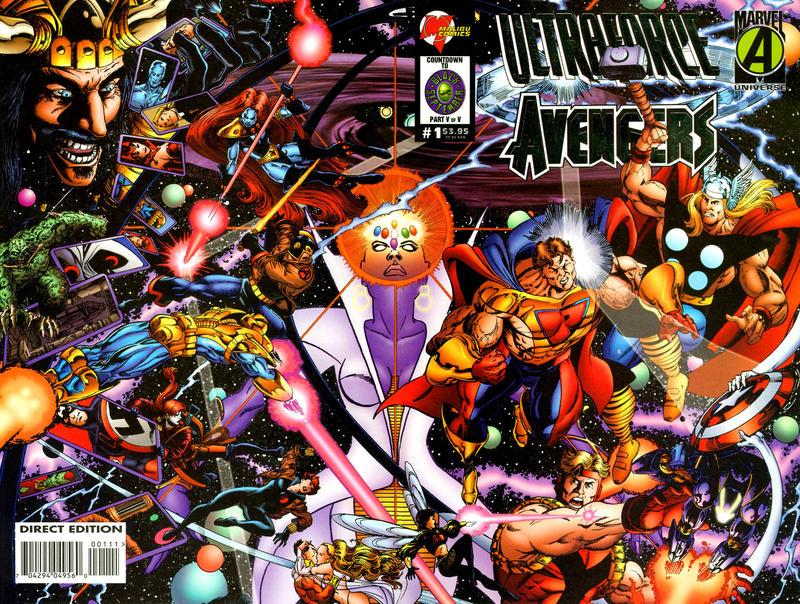 Cover for Ultraforce / Avengers (Marvel, 1995 series) #1