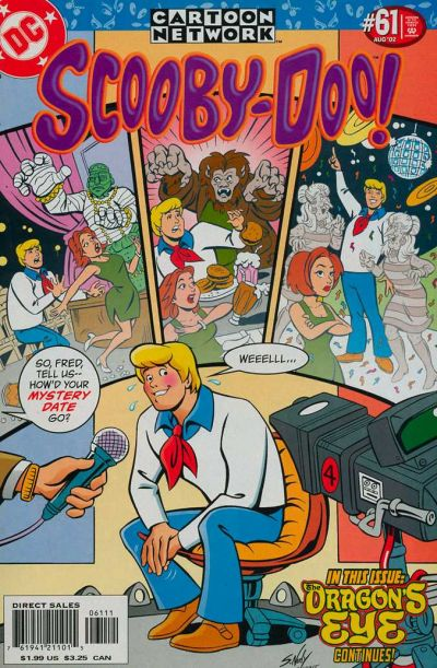 Cover for Scooby-Doo (DC, 1997 series) #61 [Newsstand]