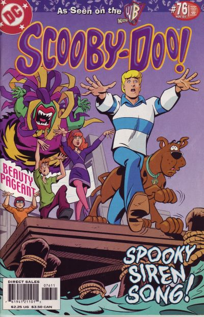 Cover for Scooby-Doo (DC, 1997 series) #76 [Direct Sales]