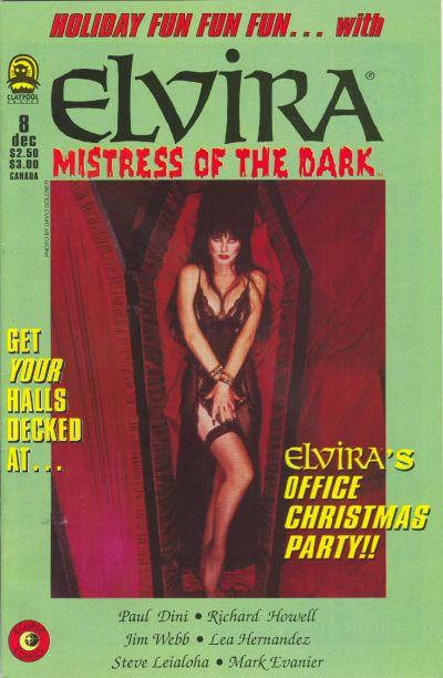 Cover for Elvira, Mistress of the Dark (Claypool Comics, 1993 series) #8