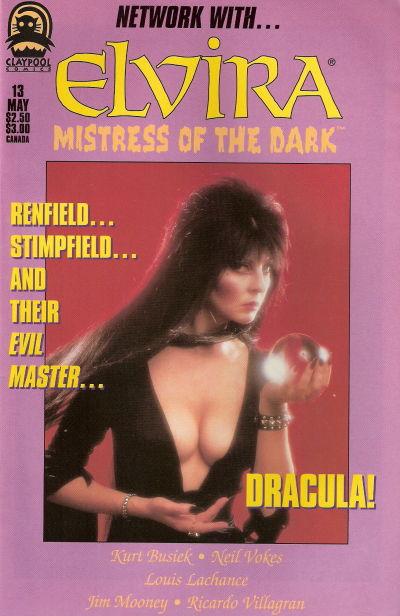 Cover for Elvira, Mistress of the Dark (Claypool Comics, 1993 series) #13