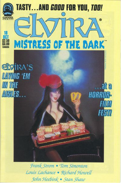 Cover for Elvira, Mistress of the Dark (Claypool Comics, 1993 series) #18