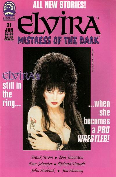 Cover for Elvira, Mistress of the Dark (Claypool Comics, 1993 series) #21