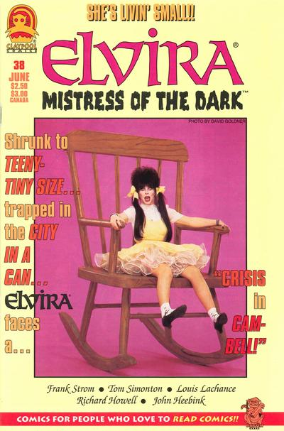Cover for Elvira, Mistress of the Dark (Claypool Comics, 1993 series) #38