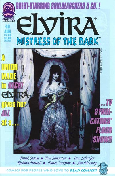 Cover for Elvira, Mistress of the Dark (Claypool Comics, 1993 series) #40