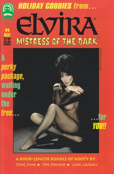 Cover for Elvira, Mistress of the Dark (Claypool Comics, 1993 series) #44