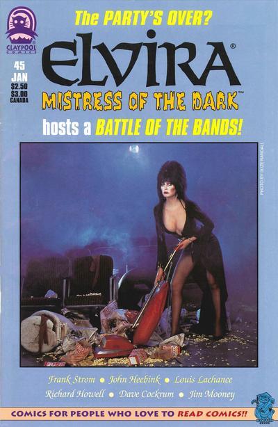 Cover for Elvira, Mistress of the Dark (Claypool Comics, 1993 series) #45