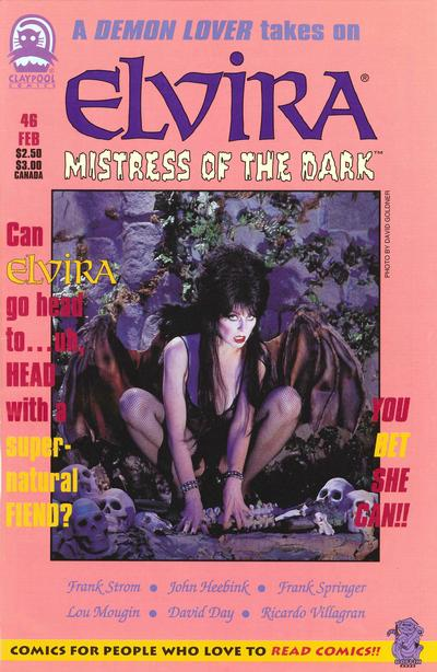 Cover for Elvira, Mistress of the Dark (Claypool Comics, 1993 series) #46