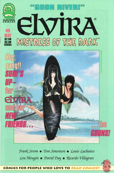 Cover for Elvira, Mistress of the Dark (Claypool Comics, 1993 series) #49