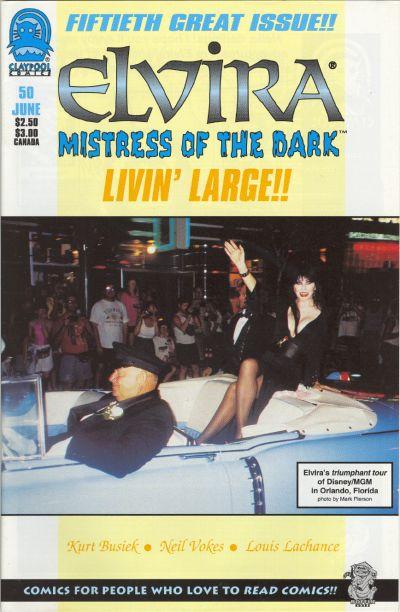 Cover for Elvira, Mistress of the Dark (Claypool Comics, 1993 series) #50