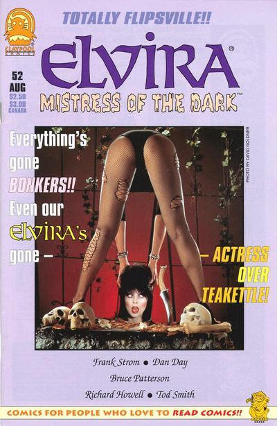 Cover for Elvira, Mistress of the Dark (Claypool Comics, 1993 series) #52
