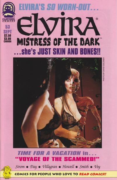 Cover for Elvira, Mistress of the Dark (Claypool Comics, 1993 series) #53