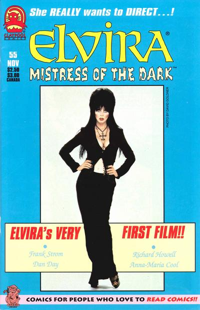 Cover for Elvira, Mistress of the Dark (Claypool Comics, 1993 series) #55