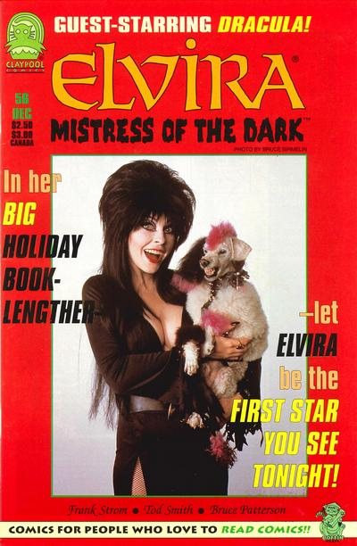 Cover for Elvira, Mistress of the Dark (Claypool Comics, 1993 series) #56