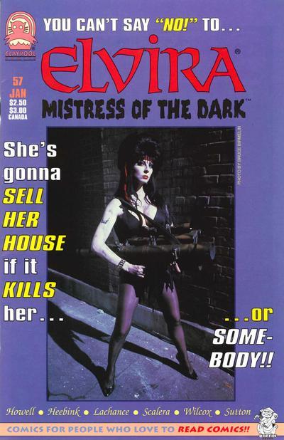 Cover for Elvira, Mistress of the Dark (Claypool Comics, 1993 series) #57