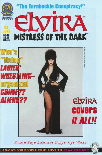Cover for Elvira, Mistress of the Dark (Claypool Comics, 1993 series) #62