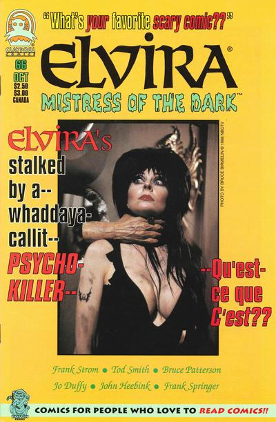 Cover for Elvira, Mistress of the Dark (Claypool Comics, 1993 series) #66