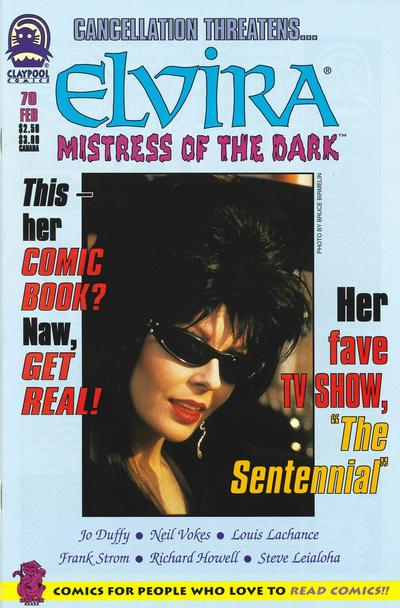 Cover for Elvira, Mistress of the Dark (Claypool Comics, 1993 series) #70