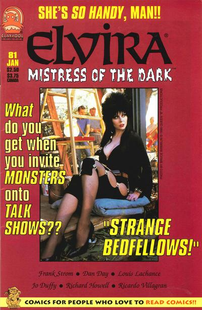 Cover for Elvira, Mistress of the Dark (Claypool Comics, 1993 series) #81