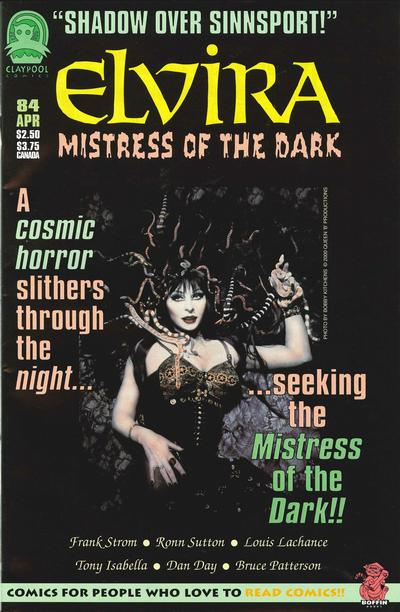 Cover for Elvira, Mistress of the Dark (Claypool Comics, 1993 series) #84