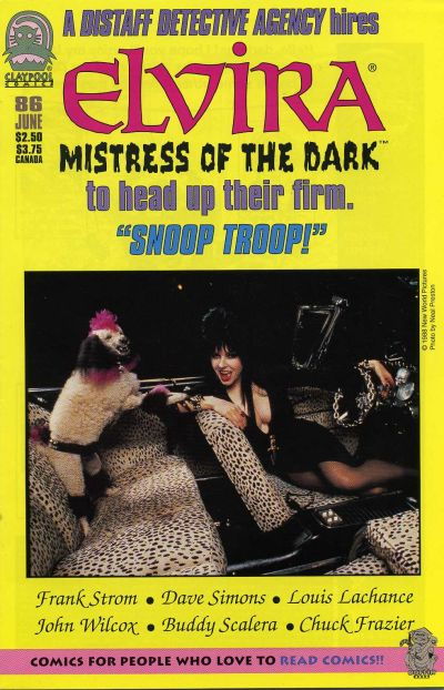 Cover for Elvira, Mistress of the Dark (Claypool Comics, 1993 series) #86
