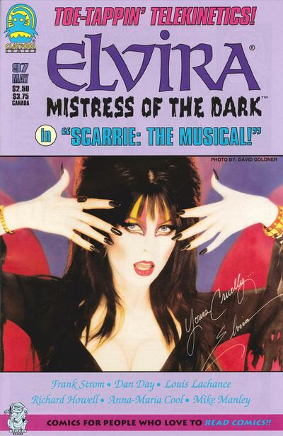 Cover for Elvira, Mistress of the Dark (Claypool Comics, 1993 series) #97