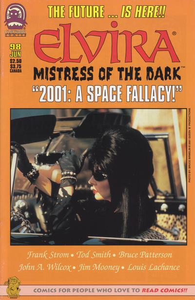 Cover for Elvira, Mistress of the Dark (Claypool Comics, 1993 series) #98