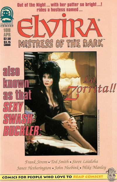 Cover for Elvira, Mistress of the Dark (Claypool Comics, 1993 series) #108