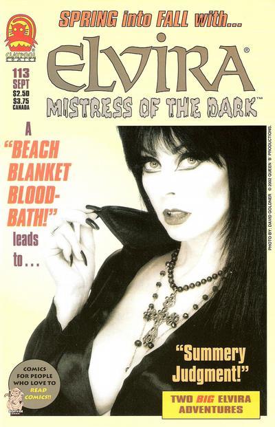 Cover for Elvira, Mistress of the Dark (Claypool Comics, 1993 series) #113
