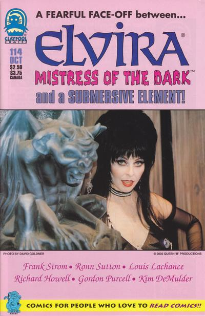 Cover for Elvira, Mistress of the Dark (Claypool Comics, 1993 series) #114