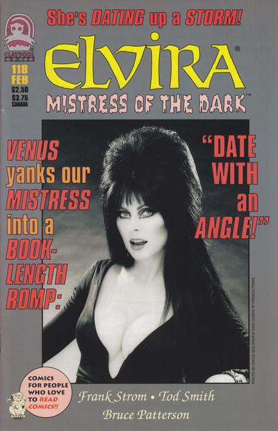 Cover for Elvira, Mistress of the Dark (Claypool Comics, 1993 series) #118