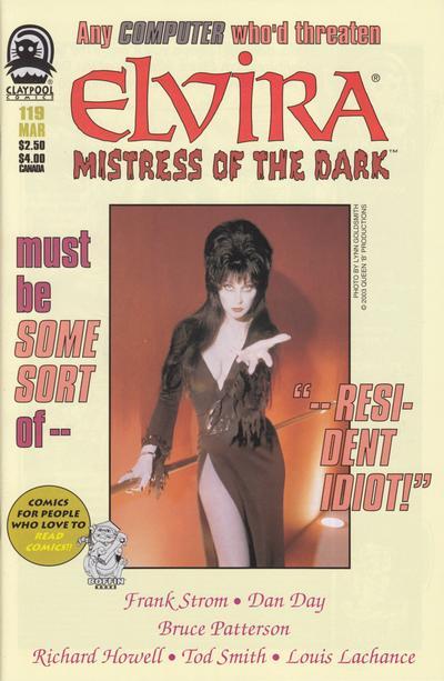 Cover for Elvira, Mistress of the Dark (Claypool Comics, 1993 series) #119