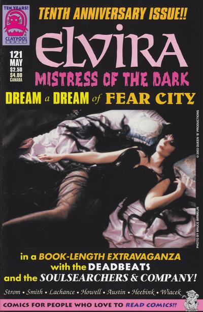 Cover for Elvira, Mistress of the Dark (Claypool Comics, 1993 series) #121