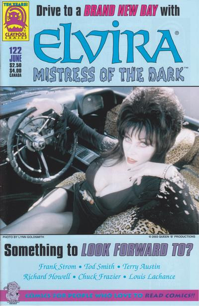 Cover for Elvira, Mistress of the Dark (Claypool Comics, 1993 series) #122