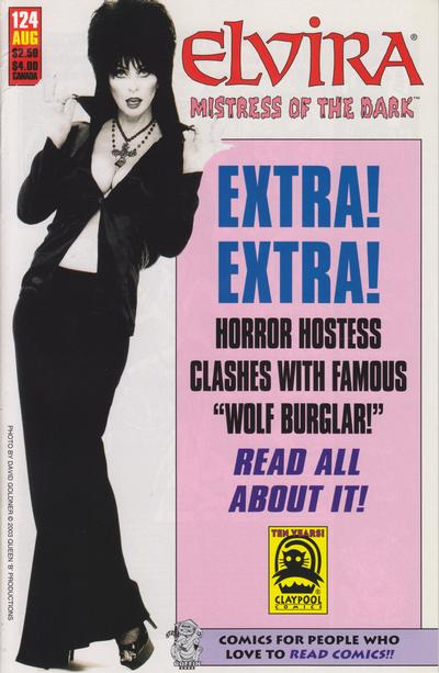 Cover for Elvira, Mistress of the Dark (Claypool Comics, 1993 series) #124