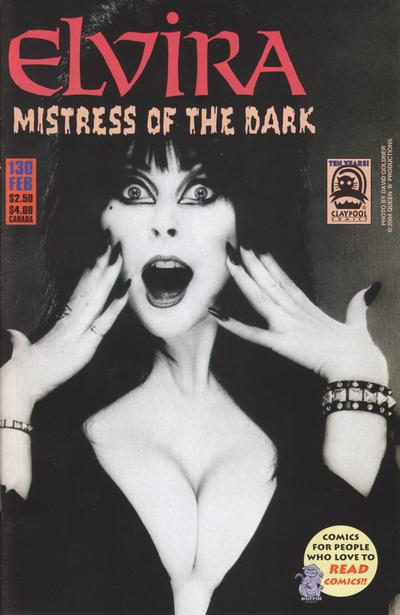 Cover for Elvira, Mistress of the Dark (Claypool Comics, 1993 series) #130