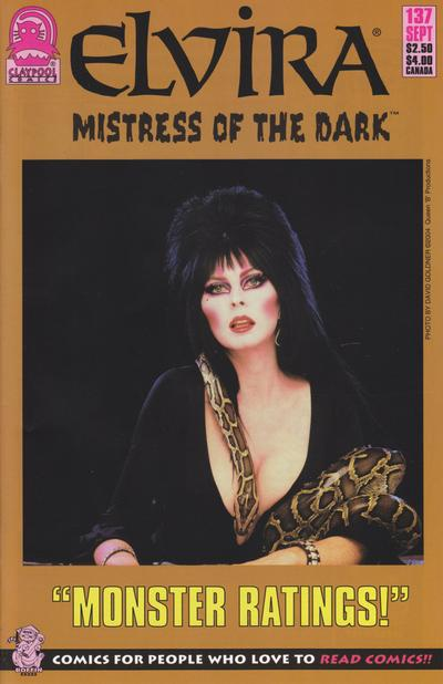 Cover for Elvira, Mistress of the Dark (Claypool Comics, 1993 series) #137