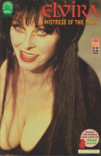 Cover for Elvira, Mistress of the Dark (Claypool Comics, 1993 series) #140