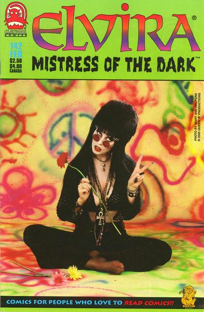 Cover for Elvira, Mistress of the Dark (Claypool Comics, 1993 series) #142