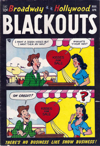 Cover for Broadway-Hollywood Blackouts (Stanhall, 1954 series) #1