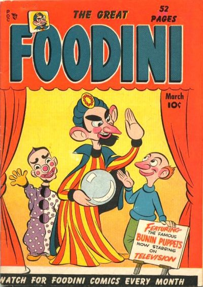 Cover for Foodini (Temerson / Helnit / Continental, 1950 series) #1