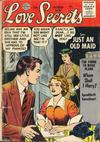 Cover for Love Secrets (Quality Comics, 1953 series) #55