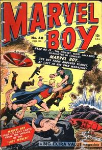 Cover Thumbnail for Marvel Boy (Bell Features, 1951 ? series) #40