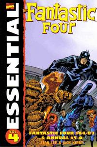 Cover Thumbnail for Essential Fantastic Four (Marvel, 1998 series) #4